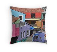 Tucson Colors Throw Pillow