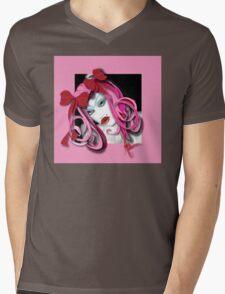 Baby Doll Mens V-Neck T-Shirt