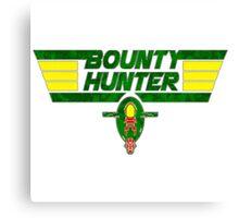 Bounty Hunter Emblem Canvas Print