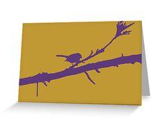 Wagtail Greeting Card