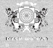 Dirty Warble Sri Yantra by David Avatara