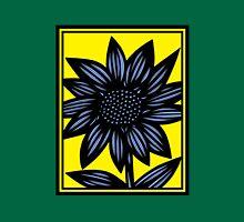 Clandestine Flowers Yellow Blue Black Tank Top