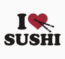 I love Sushi One Piece - Short Sleeve