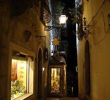 strolling along Taormina by Andrea Rapisarda