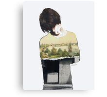 Default guilt Canvas Print