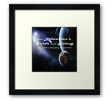 Librarian's Guide to the Galaxy - science and science fiction readers advisory Framed Print