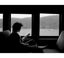 """Lady on the Train"" Photographic Print"