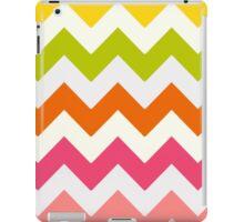 Summer Pastel Chevron Pattern iPad Case/Skin