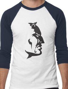 Red Devil Men's Baseball ¾ T-Shirt
