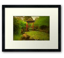 Monet Moment No 2 Framed Print
