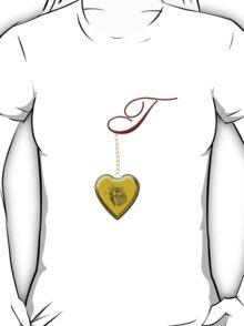 T Golden Heart Locket T-Shirt