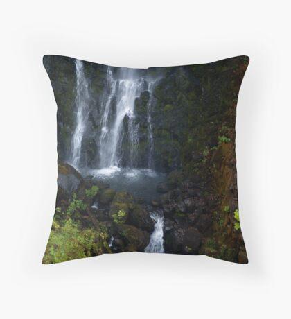 Beauty below Throw Pillow