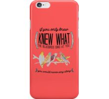 What the Bluebirds Sing iPhone Case/Skin