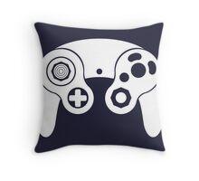 Nintendo GameCube White Throw Pillow