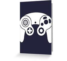 Nintendo GameCube White Greeting Card