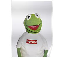 Kermit for Supreme 2 Media Cases, Pillows, and More. Poster
