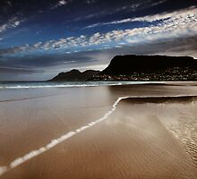 Fish Hoek Beach II by louishiemstra