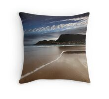 Fish Hoek Beach II Throw Pillow