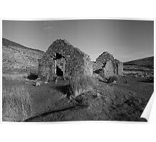 Glendalough church ruins Poster