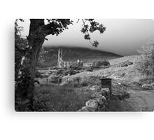 Dunlewey church Canvas Print