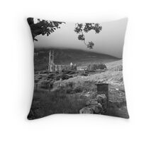 Dunlewey church Throw Pillow