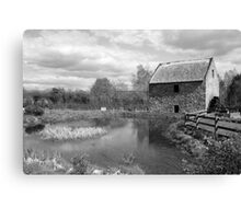 Bunratty Folk Park mill Canvas Print