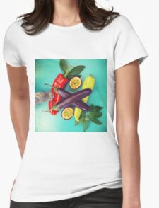 Chilli Paw Womens Fitted T-Shirt