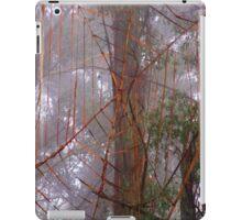Spiderweb in the mist iPad Case/Skin