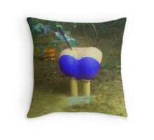 get your bum into gear Throw Pillow