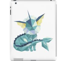Origami Vaporeon iPad Case/Skin
