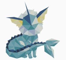 Origami Vaporeon Kids Clothes