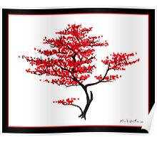 Natural Red Poster