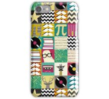 hip hip geek iPhone Case/Skin