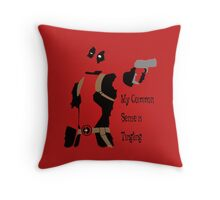 Merc with a mouth Throw Pillow
