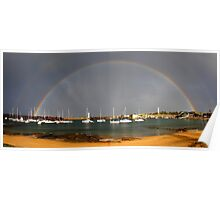 Rainbow Harbour Poster