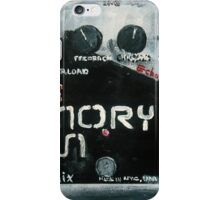 EHX Memory Man Deluxe iPhone Case/Skin