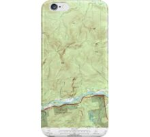 Maine USGS Historical Map Gilead 105159 1995 24000 iPhone Case/Skin