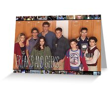 Freaks and Geeks Shirt Greeting Card