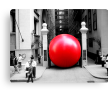 Red Bubble!  Canvas Print