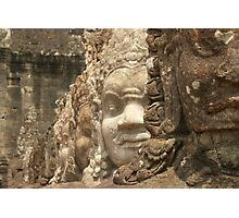 Bridge Ancient Angkor Photographic Print
