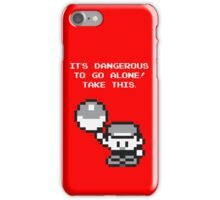 Take This! Red Version iPhone Case/Skin