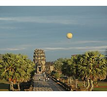 Early morning balloon ride Photographic Print