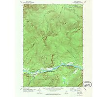 Maine USGS Historical Map Gilead 806718 1970 24000 Photographic Print