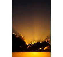 Golden Sky Photographic Print