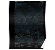 Maine USGS Historical Map Gilead 20120118 TM Inversion Poster