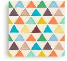 Portland triangles Canvas Print