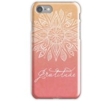 Gratitude iPhone Case/Skin