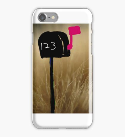 The country style mail box iPhone Case/Skin