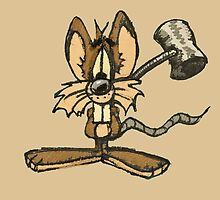 Mouse with hammer by aodilon