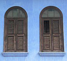 Penang Windows by Louise Mackley